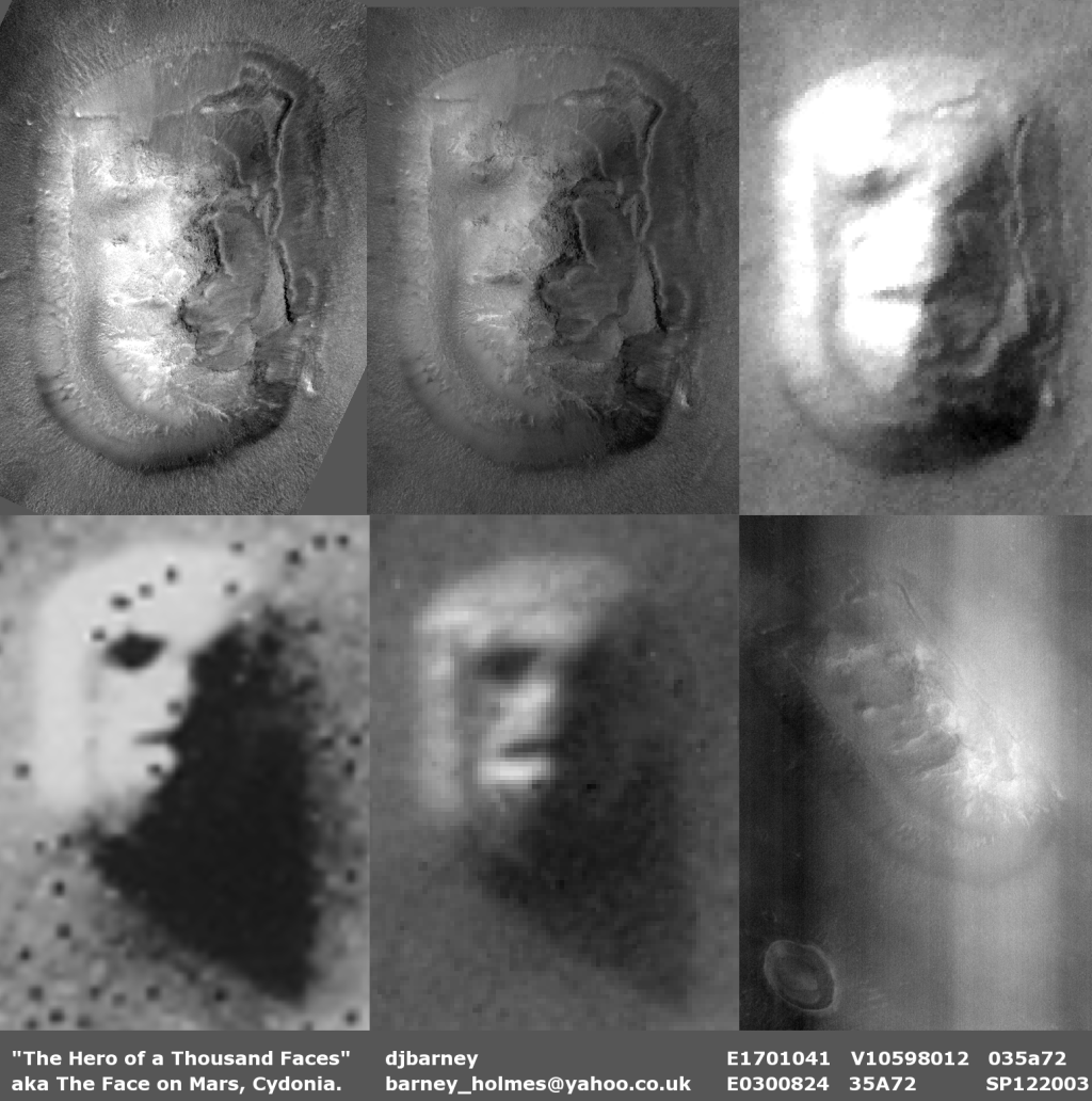 Mars Structures